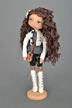 """Doll guitar player """"Sasha"""""""