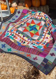 Live a Colorful Life: Bloggers Quilt Festival, Fall 2013: Marcelle Goes to the Circus