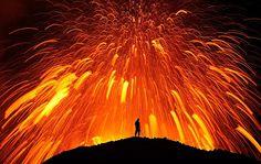 Lava dancing