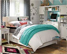Las chicas adolescentes pasan mucho tiempo es su dormitorio. Se convierte en su lugar de refugio, de estudio y para compartir con sus amigas. Por ello, convertir su espacio en un lugar atractivo…