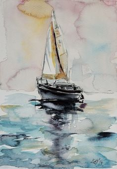 ARTFINDER: Sailboat by Kovács Anna Brigitta -