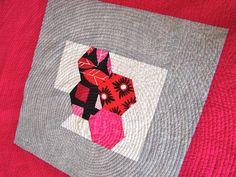 Tallgrass Prairie Studio: Granddaughter Star and Hexagon Portrait