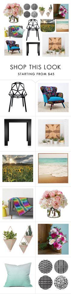 """mood accesorios"" by isarely-pore on Polyvore featuring interior, interiors, interior design, hogar, home decor, interior decorating, Kartell, Diane James, DENY Designs y notNeutral"