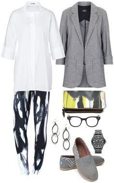 hip professor // featuring magpie leggings, kathrine earrings, and wings clutch by megan auman