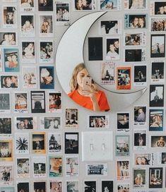 Que tal transformar a sua parede em um mural de recordações? #decor