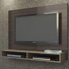 Os painéis para sala de estar, além de deixarem a TV melhor posicionada, ocupam menos espaço no ambiente e deixam a decoração da sala ainda mais bonita.