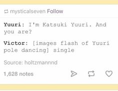 This is honestly what would have happened if Yuri hadn't known Victor.