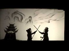 Impressive Monkey King shadow puppet theater.