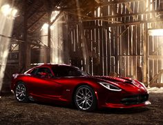 2013 SRT Viper (because I've always wanted a Viper and I can't stop drooling over this one!)