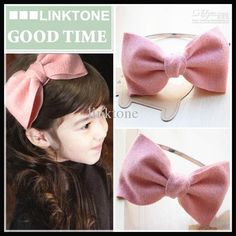 New Arrival Children's Bowknot Headbands Baby's Baby Clips Childrens Accessory Kid's Flower Party Hair Jewelry Girl's Kids Korean Hair Bands from Linktone,$1.77