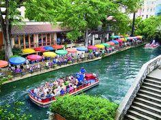 Take a walk along the San Antonio River Walk.  Such a beautiful and memorable trip.