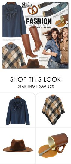 """SheIn 7"" by barbarela11 ❤ liked on Polyvore featuring Pierre Hardy, women's clothing, women, female, woman, misses, juniors, Winter, chic and Sheinside"