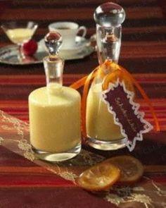 Gift from the kitchen | Geschenke aus der Küche Das Rezept für Weißer Schokoladen-Orangen-Likör