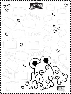 I Heart Frogs and Box Tops For Education and PRIZES TOO! | Laura Kelly's Inklings