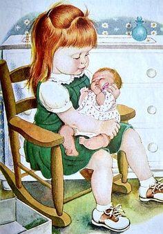 Un articolo di Dindi Nata nel 1904 e deceduta nel 1987, fu una delle principali illustratrici dei Little Golden Books e fu de...