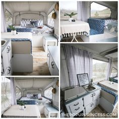 Caravan 323203710756242916 - The Scobey's Pop Up Camper Makeover – The Pop Up Princess Source by Jayco Pop Up Campers, Best Pop Up Campers, Rv Campers, Popup Camper Remodel, Diy Camper, Camper Renovation, Camper Remodeling, Camper Life, Camper Hacks