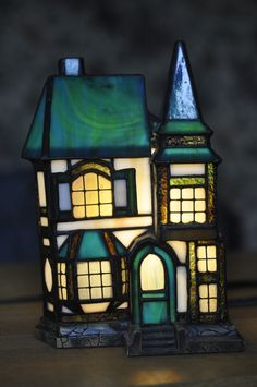 Vintage Stained Glass Look Victorian Home Light by finntastic2006, $70.00
