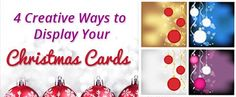 Blog - 4 Creative Ways to Display Your Christmas Cards -Paper Craft Products