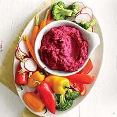 Roasted Beet Hummus | MyRecipes.com