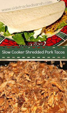 Slow Cooker Shredded