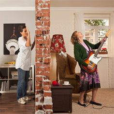 How to be a courteous neighbor—or silence the sounds from next door—with these noise-dampening strategies.