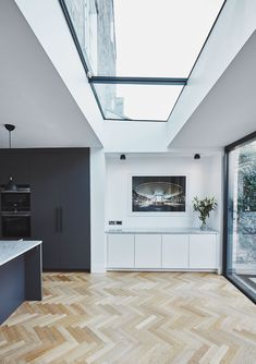 Visit the post for more. Garage To Living Space, Living Spaces, Rear Extension, Extension Ideas, Fulham, Old Kitchen, House Extensions, Home Interior Design, Home Projects