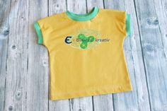 Schnelles Shirt für den Zwerg - so rein theoretisch... - Blaues E kreativ