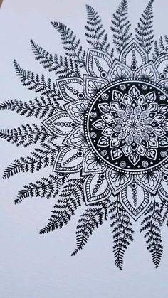 Easy Mandala Drawing, Mandala Sketch, Mandala Doodle, Mandala Art Lesson, Doodle Art Drawing, Mandala Artwork, Mandala Painting, Doodle Art Designs, Doodle Patterns