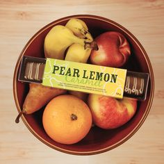 Zesty and delicious. Purdys Pear Lemon Caramel chocolates is a perfect chocolate to satisfy your taste buds.