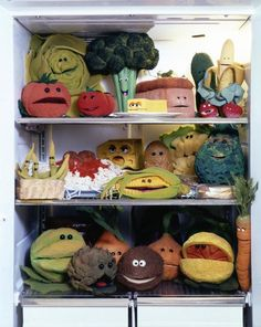 Why do the singing veggies love being in the fridge? So they can all be cool as the cucumber… and find out if the light really does go out… Frankie Cosmos, J Birds, Custom Puppets, Sesame Street Muppets, Fraggle Rock, The Muppet Show, Muppet Babies, Miss Piggy, Comic