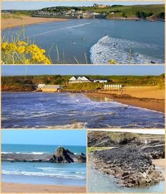 More images of Summerleaze Beach, Bude, Cornwall.