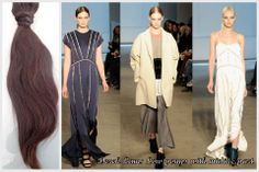 Over the weekend, #NYFW has shown lots of simple, yet elegant hair styles. Check out Derek Lam's center part, low pony tails! Simple and SO easy to recreate this look.  Look how perfect our virgin straight texture would be to pull off any of these classy styles!  #NYFW2014 #DerekLam #Runway #virginstraight #straighthair #straightextensions #hair #hairextensions #virginhair #indianhairextensions #indiahair #remyhair #humanhair