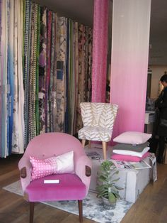 New Designers Guild Collection- fantastic pink- colour of the year.