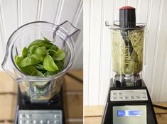 Homemade Basil Pasta and a Blendtech giveaway!