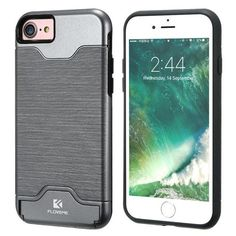 FLOVEME Original Hidden Card Slot Case For iPhone 7 6 6S 7 Plus Luxury Cover For iPhone 7Plus For Samsung Galaxy S7 Edge Case