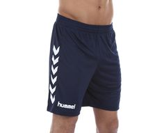 Hummel - Core Poly Shorts | | Blå/Blå | Sportamore.no
