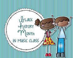 Black History Month in Music Class - Kodaly Resources, Jazz, Ragtime, Joplin, Charlier Parker #musicedchat
