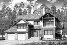 """🏠 """"Классика""""- двухэтажный особняк с эркером: цены, планировка, фото. Купить готовый проект Pool Houses, Catalog, House Design, House Styles, Modern, Home Decor, Wood Cabins, Houses, Trendy Tree"""