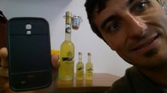 "I work in this office and we produce ""limoncello"".  Your cover saved my phone just bought from various bottles that had fallen over because the man in the photo  never stop! It's really very resistant!  Picture by Sara Dionisio - Italy"