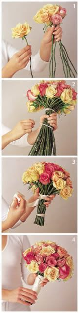 how to do your own bouquets (Costco flowers for $15 for 2 dozen?)