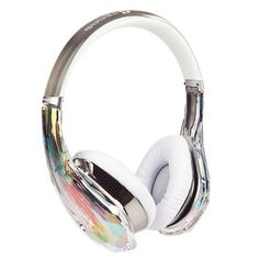 Diamond Tears Headphones Clear, $299.95, now featured on Fab.    Something more girly and as durable as the dre beats headset