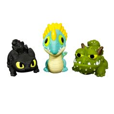 Amazon.com: DreamWorks Dragons: How To Train Your Dragon 2 - Squirt and Float Dragons: Toys & Games