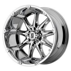"XD-Series Badlands XD779 Chrome Wheel (20x9""/8x170mm) XD Series"