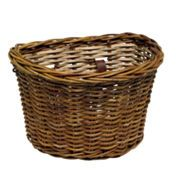 Electra Wicker Front Basket Brown