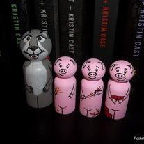 3 little pigs peg dolls - Google Search