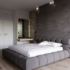24 Stunning Minimalist Modern Master Bedroom Design Best Ideas ⋆ All About Home Decor Modern Master Bedroom, Modern Bedroom Design, Master Bedroom Design, Minimalist Bedroom, Home Bedroom, Home Interior Design, Bedroom Decor, Interior Designing, Bedroom Lighting