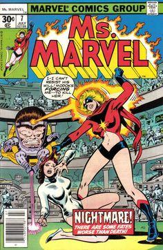 Ms. Marvel # 7 by John Buscema & Joe Sinnott