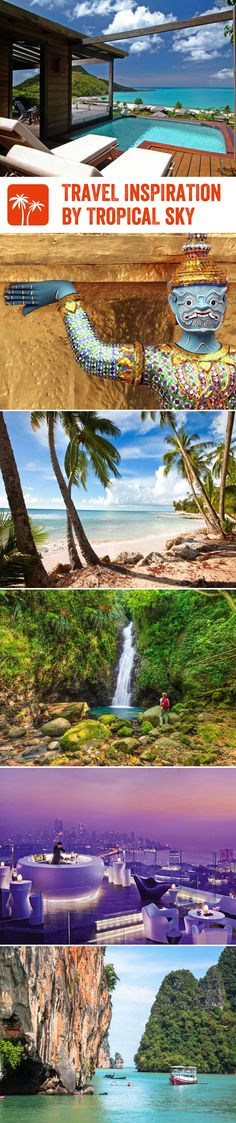 With so many wonderful destinations at your fingertips, it's hard to know where to go - so we've got a collection of fantastic travel guides, first-hand customer stories and absorbing videos to help inspire your next perfect holiday with Tropical Sky