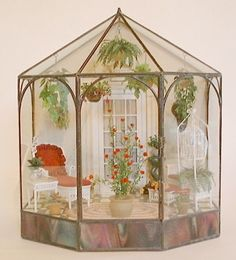 Conservatory # miniatures, dollhouse
