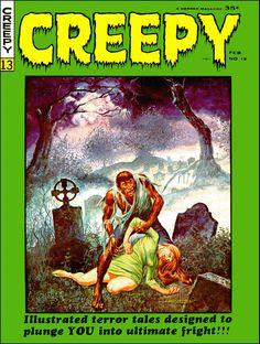 Creepy #13 - Cover by Gray Morrow